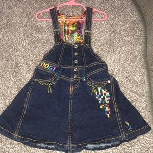 Coggi toddler overall dress